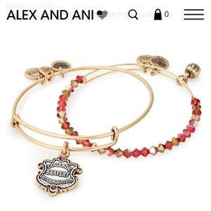 🔥harry potter grynffindor bracelet set